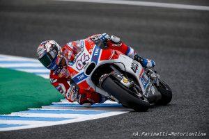 """MotoGP Le Mans: Dovizioso, """"Sarei potuto entrare nei 10 ma alla fine ho perso il davanti"""