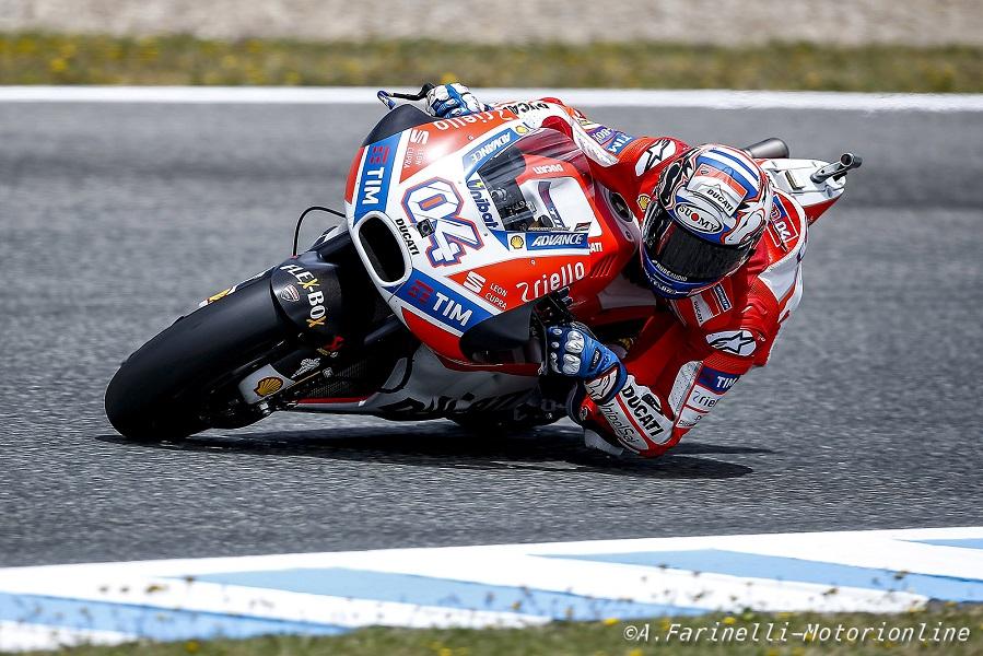 """MotoGP Jerez: Dovizioso, """"Dopo la qualifica di ieri il quinto posto va più che bene"""