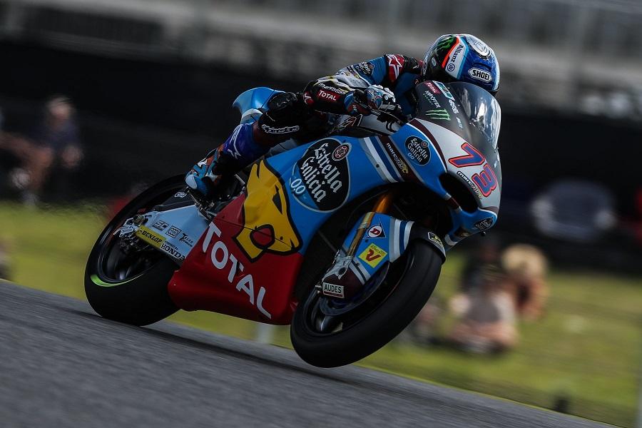 Moto2 Jerez, FP1: Sul bagnato dominio di Alex Marquez