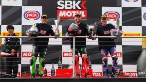 Superbike, Pata UK Round, Gara1: nona vittoria consecutiva per Sykes