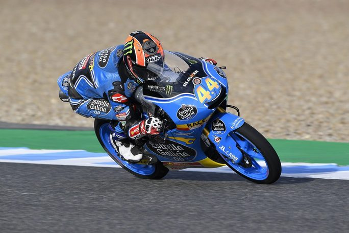 Moto3 Jerez, Warm Up: Canet è il più veloce, Bulega è quinto