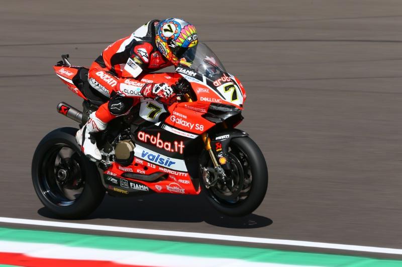 Superbike, Motul Italian Round, Gara 1: Chaz Davies conquista una grande vittoria in solitaria