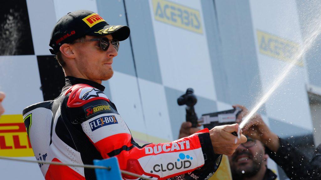 Acerbis Dutch Round, Gara 2: fine settimana complicato per l'Aruba Racing Ducati