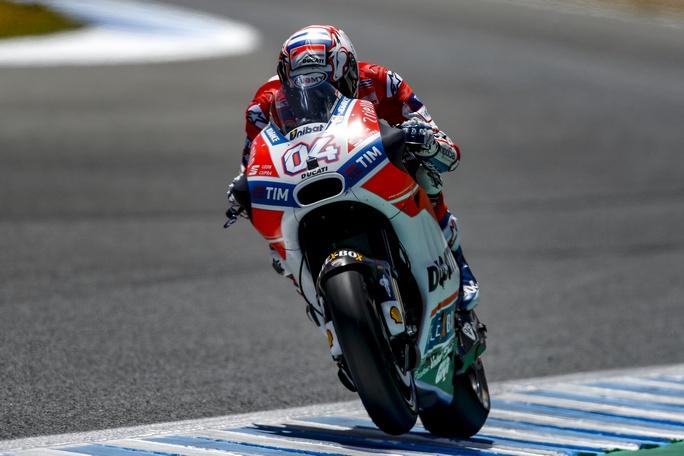"""MotoGP Jerez: Andrea Dovizioso, """"Sono soddisfatto del mio passo gara"""""""