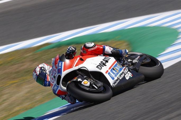 """MotoGP Test Jerez: Dovizioso, """"Come velocità tutto sommato non siamo andati male"""""""