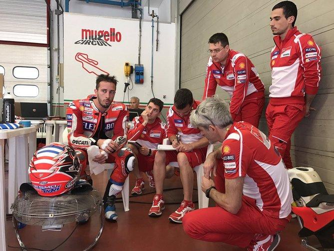 MotoGP: Test Ducati Mugello, in pista Dovizioso, Lorenzo e Pirro
