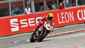 Superbike, Motul Italian Round, Gara 1: Xavi Fores molto soddisfatto del suo quinto posto