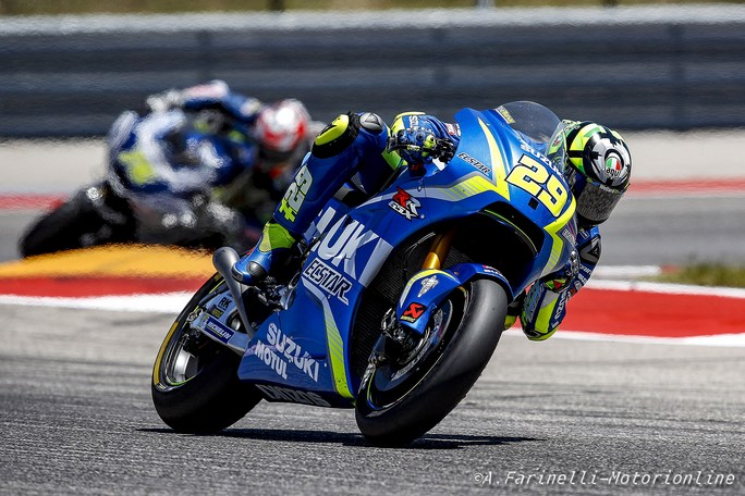 """MotoGP: Andrea Iannone, """"Fiducioso per la gara di Jerez"""""""