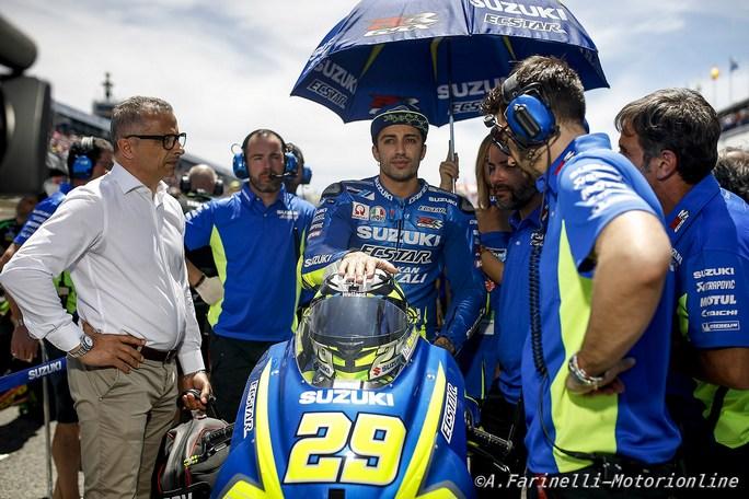 """MotoGP: Andrea Iannone, """"Le Mans è un circuito che mi piace, spero di fare bene"""""""