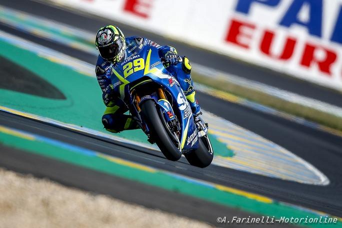 """MotoGP Le Mans: Andrea Iannone, """"E' stata una gara difficile"""""""