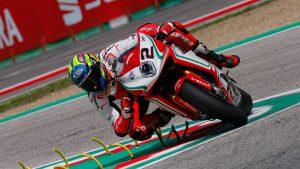 Superbike, Motul Italian Round, Gara 1: buon sesto posto per Leon Camier