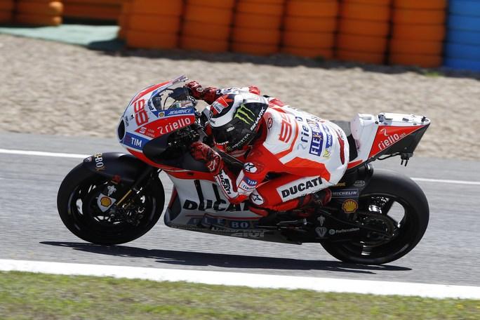 "MotoGP Test Jerez: Lorenzo, ""Comincio a sentire la moto davvero mia"""