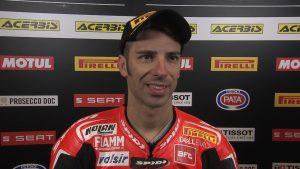 Superbike, Motul Italian Round, Gara 2: Marco Melandri deluso della sua corsa
