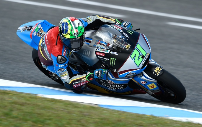 Moto2 Jerez, Warm Up: Morbidelli al Top, bene Corsi e Pasini