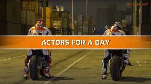 """MotoGP: Marquez e Pedrosa, """"Attori per un giorno"""""""
