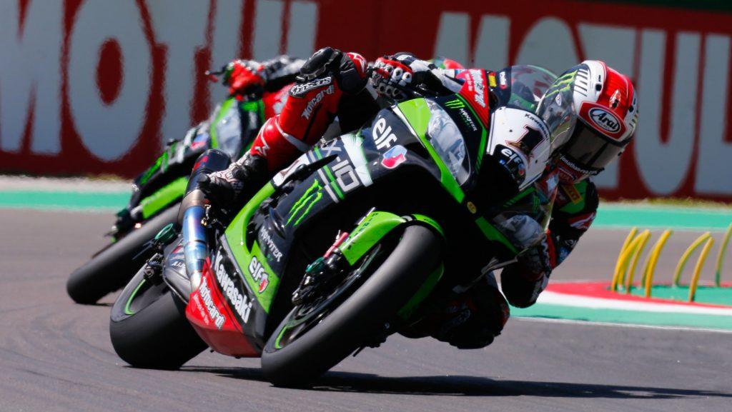 Superbike, Motul Italian Round, Gara 2: ancora un buon secondo posto per Jonathan Rea