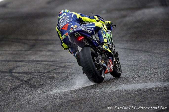 """MotoGP Le Mans: Valentino Rossi, """"Buon feeling sul bagnato"""""""