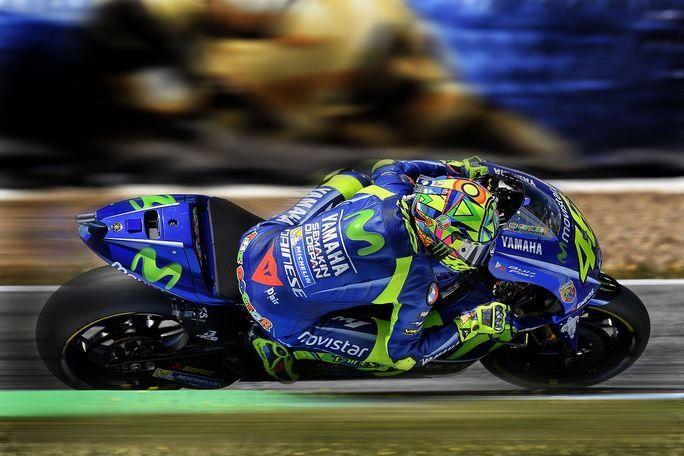 """MotoGP Jerez: Rossi, """"Non sono soddisfatto della qualifica, ma ho un buon passo"""""""