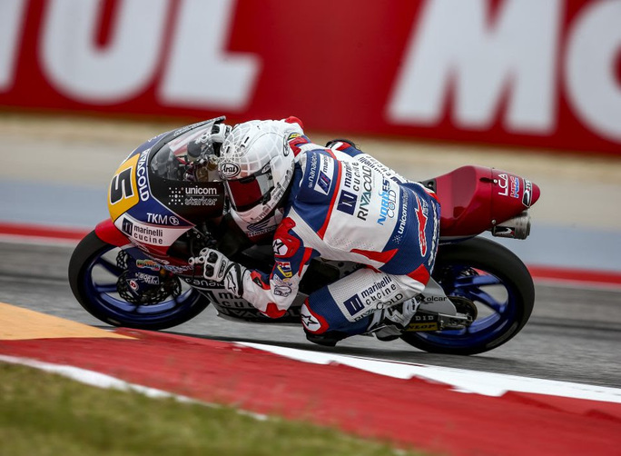 Moto3, Fenati parte dalla prima fila a Jerez De La Frontera