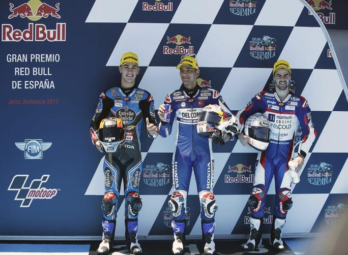 Moto3 Jerez, Fenati in prima fila