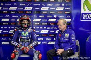 MotoGP Test Jerez: Vinales al comando alle ore 14:00, Rossi prova il nuovo telaio