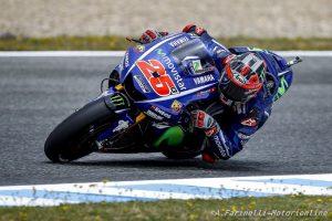 "MotoGP Jerez: Vinales, ""In qualifica non avevamo grip a sinistra"""