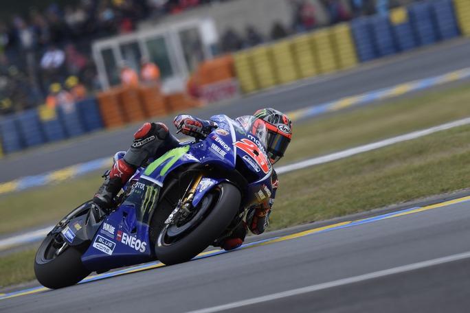 """MotoGP Le Mans: Vinales, """"Per la gara spero in una lotta tra Yamaha"""""""