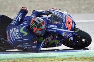 MotoGP Jerez, Warm Up: Vinales e Lorenzo al Top con lo stesso crono, Rossi è decimo