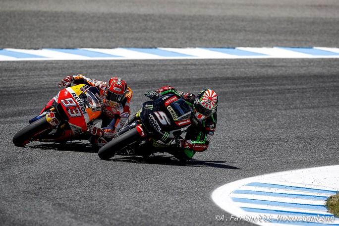 MotoGP Jerez: Johann Zarco miglior pilota Yamaha
