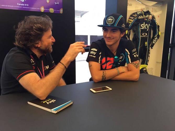 "Moto2 2017: Intervista esclusiva a ""Pecco"" Bagnaia"