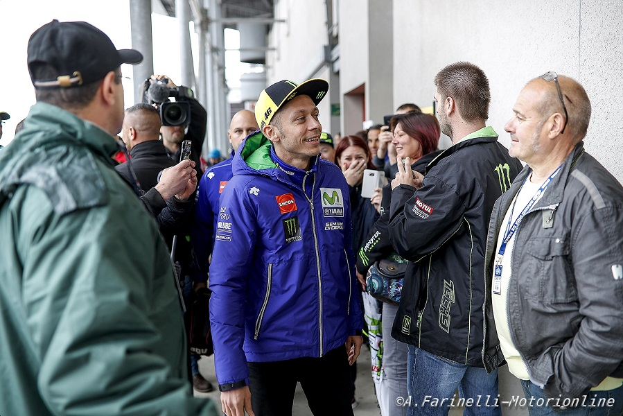 Valentino Rossi al Mugello ci sarà