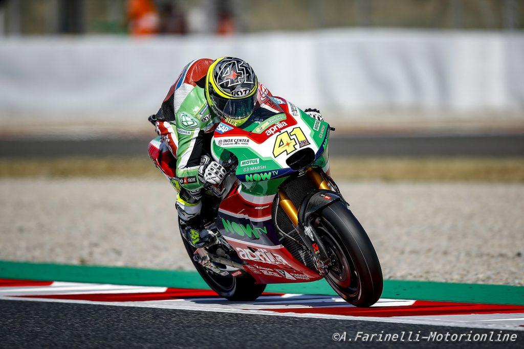 "MotoGP | Barcellona, Gara: Espargarò, ""Sono molto deluso"""