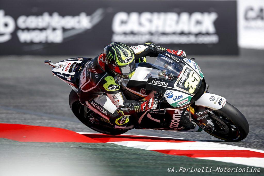 "MotoGP | Barcellona, QP: Crutchlow, ""Grande delusione"""