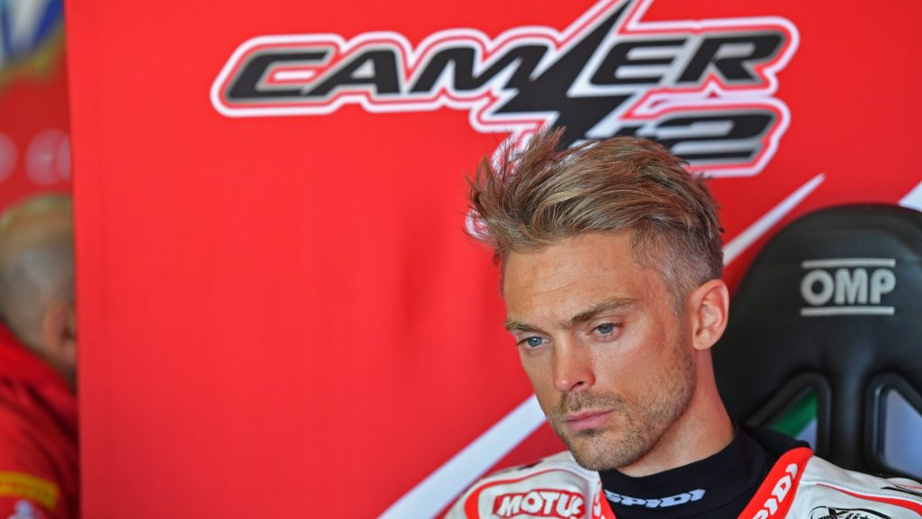Superbike: Leon Camier con il team Red Bull Honda?