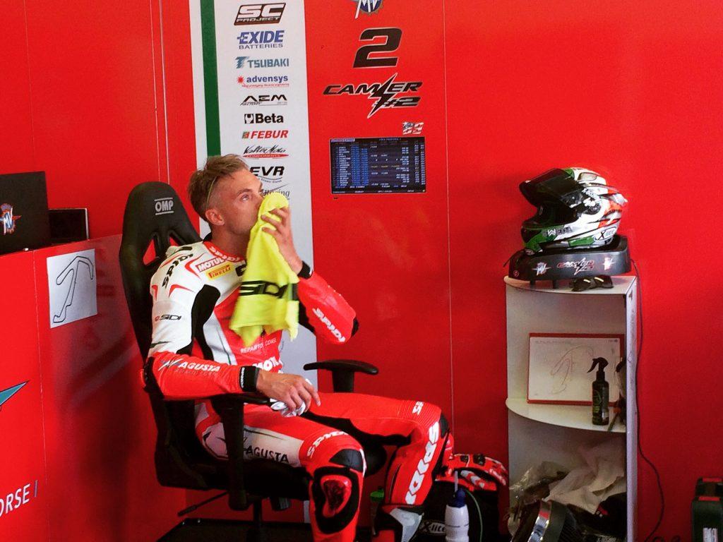 Superbike, Pirelli Riviera di Rimini Round, FP: buon quinto tempo per Leon Camier