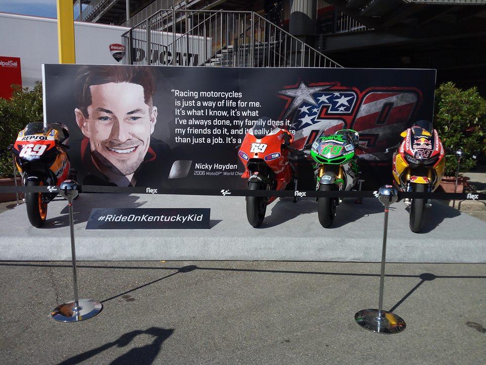 MotoGP Mugello: 69 secondi per Hayden - Notizie sul Motomondiale