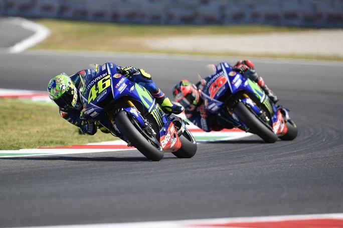 """MotoGP Mugello: Valentino Rossi 4° ai piedi del podio """"Ad otto giri dalla fine purtroppo avevo finito le energie"""""""