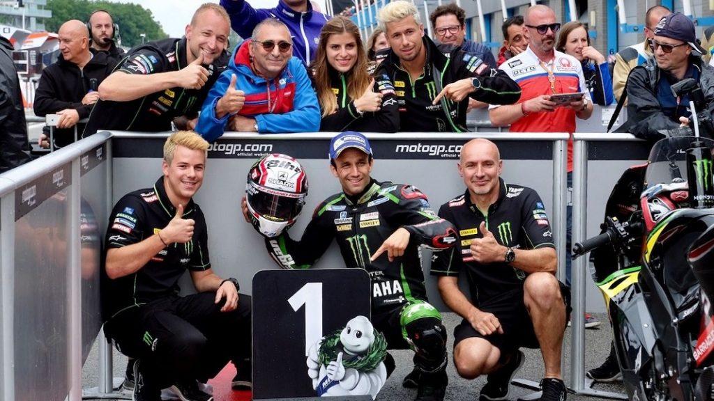 """MotoGP Assen: Strepitosa pole di Zarco, """"Quando vedi il tuo nome li in alto è bellissimo"""""""