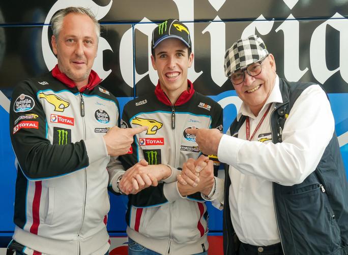 Moto2: Alex Marquez rinnova con Estrella Galicia 0.0 Marc VDS
