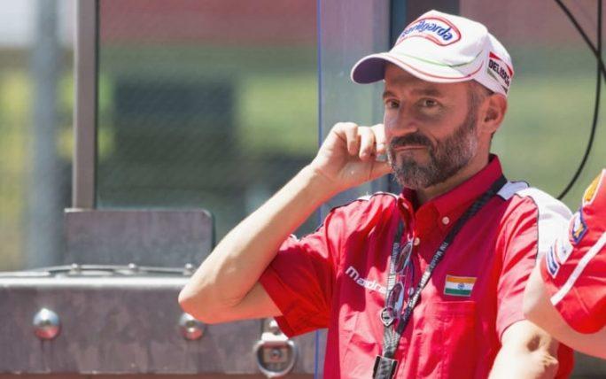 Paura per Max Biaggi, incidente in pista: