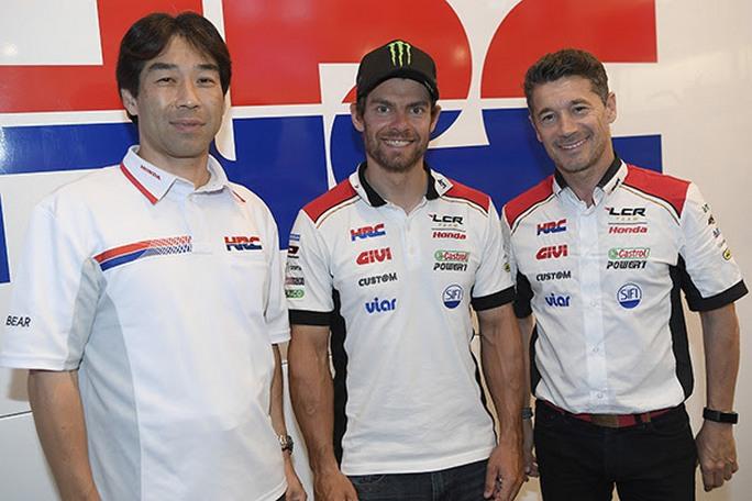MotoGP: Cal Crutchlow rinnova con Honda LCR