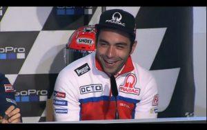 """MotoGP Sachsenring Press Conference: Petrucci, """"Ora vado forte anche sull'asciutto"""""""