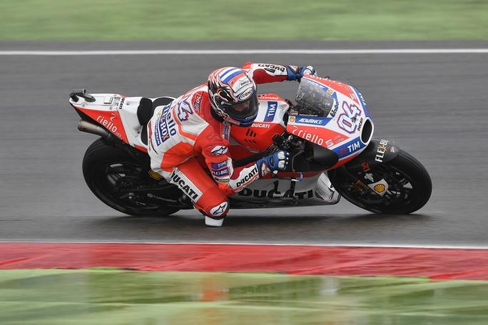 "MotoGP Assen: Andrea Dovizioso, ""Oggi non avevo feeling"""
