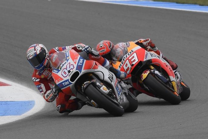 MotoGP, Dovizioso: ho vissuto una settimana da sogno