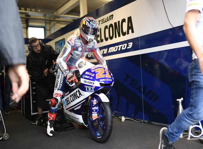 """Moto3 Assen QP: Di Giannantonio, """"Una giornata no"""""""