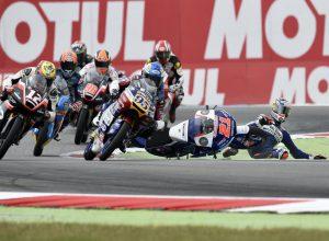 """Moto3 Assen Gara: Di Giannantonio, """"Peccato per la caduta ma ci siamo"""""""