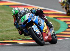 """Moto2 Sachsenring Day 1: Morbidelli, """"Sono fiducioso"""""""