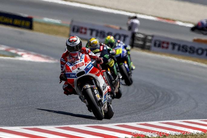 MotoGP Assen 2017, Ducati: Dovizioso ottimista, Lorenzo si lamenta della GP17