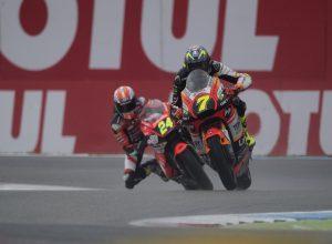 """Moto2 Gara Assen: Marini, """"Alcuni piloti pensano di vincere al primo giro"""""""