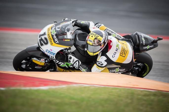 Moto2, Assen: spaventoso incidente per Baldassarri, pilota è cosciente